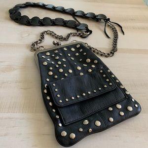 Jessica Simpson studded (upcycled) handbag.